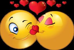 Kisses kiss smiley clipart