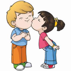 Kisses kissing cliparts