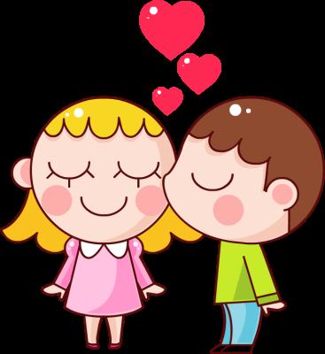 Kisses kissing donaldson clip art