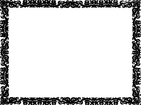 Certificate border clip art at vector clip art