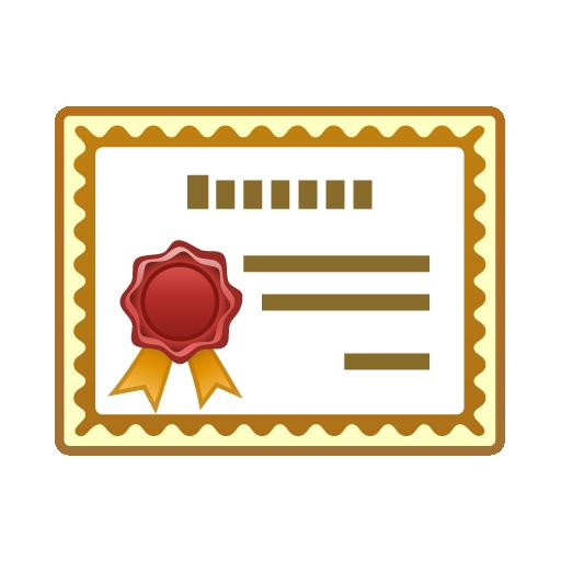 Certificate clip art free clipart 2