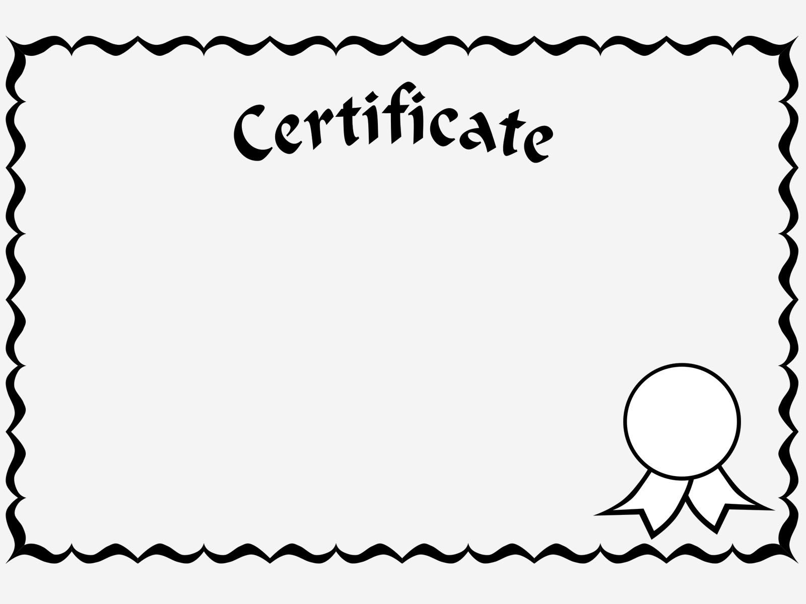 Certificate hen clipart