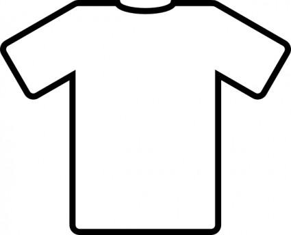 Football jersey football shirt clipart