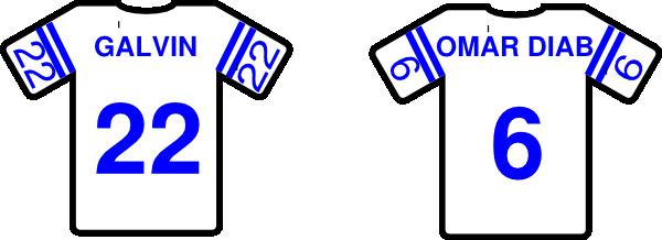 Football jersey jersey clip art at vector clip art 2