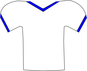 Football jersey jersey white clip art high quality clip art