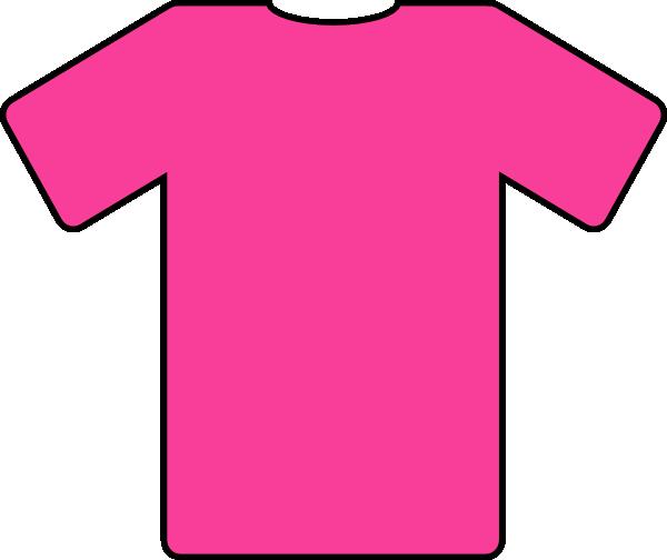 Football jersey pink jersey clip art at vector clip art