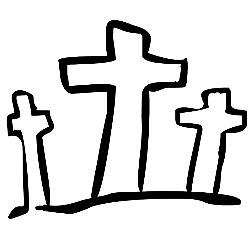 Religion cross clipart black and white free clipart images