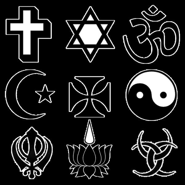 Religion religious symbols clip art clipart
