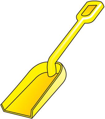 Shovel clipart 3