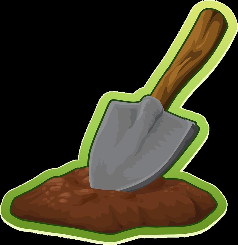 Shovel2 clipart