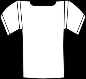 Template football jersey clipart 2