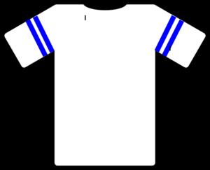 Template football jersey clipart