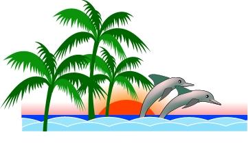Brigitte vector art free clipart florida palms nature coast