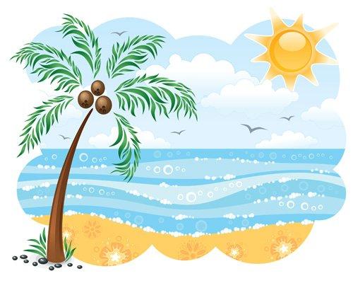 Clip art beach florida clipart