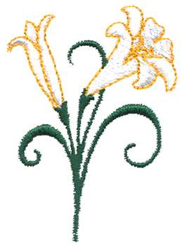 Easter lily clipart clipart