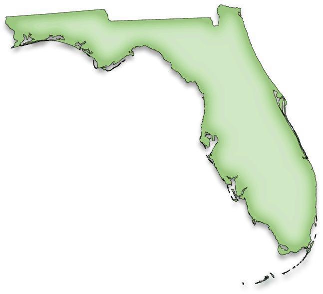Exploring florida color clip art maps