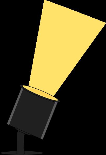 Floor spotlight clipart 2