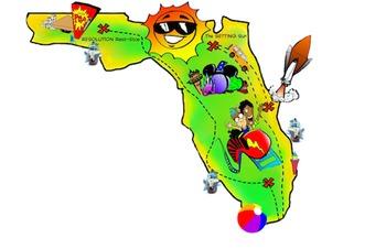 Florida clip art 3