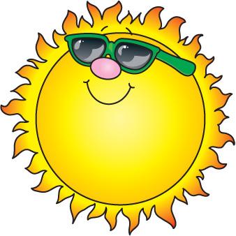 Florida sun clipart