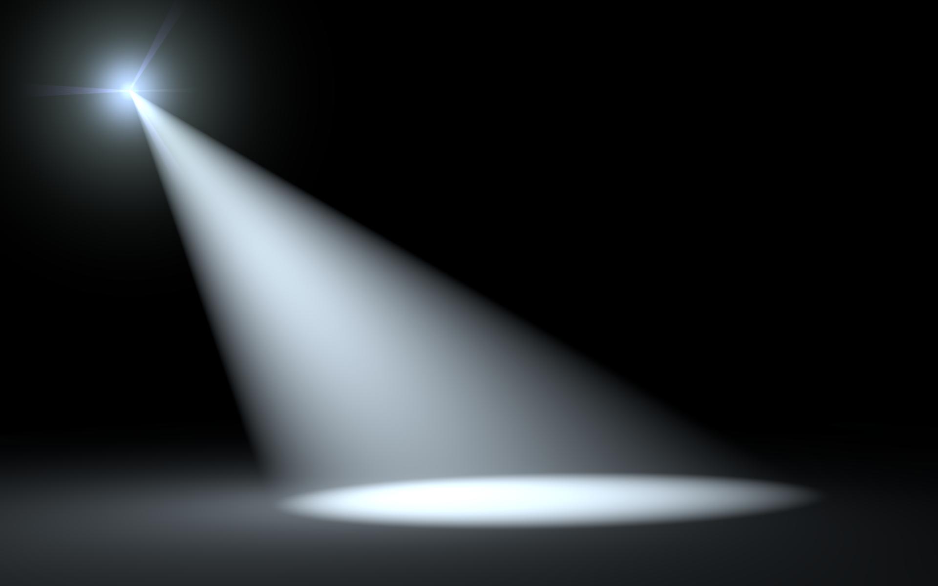 Free spotlight image clipart