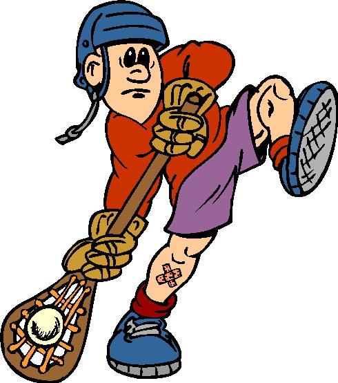 Lacrosse clipart 4