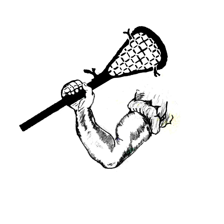 Lacrosse surfer clip art