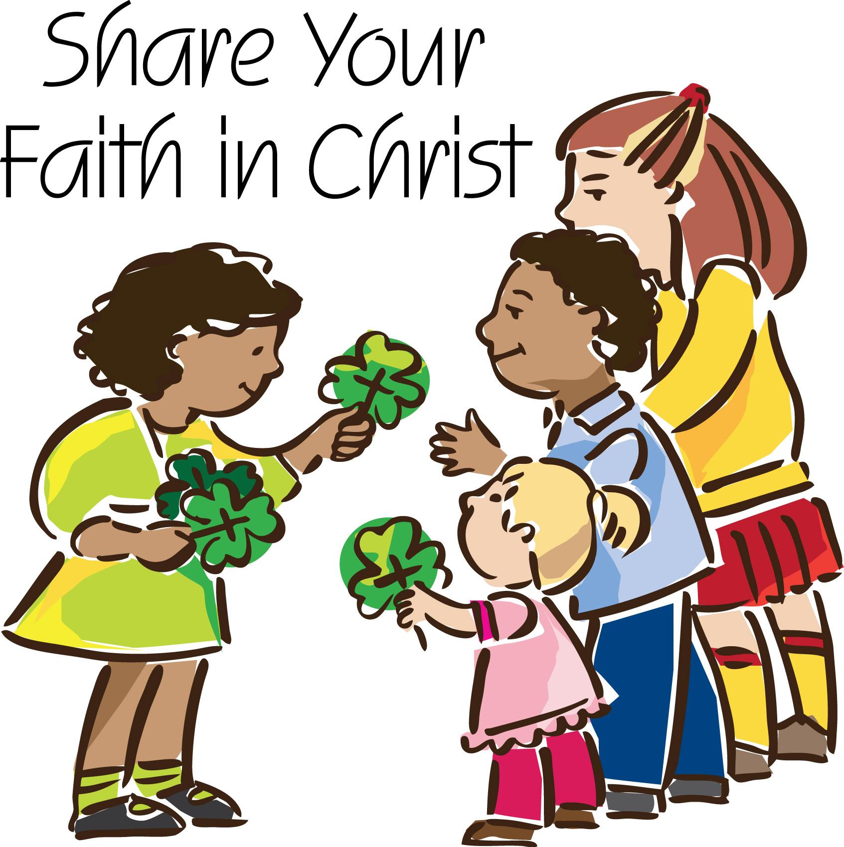Share faith clipart 3