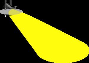 Spotlight clip art at vector clip art