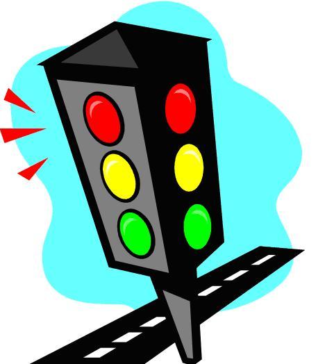Stop light stoplight clipart