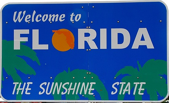 Welcome to florida clipart 2