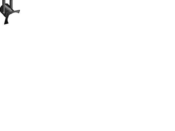 White spotlight clip art at vector clip art 2