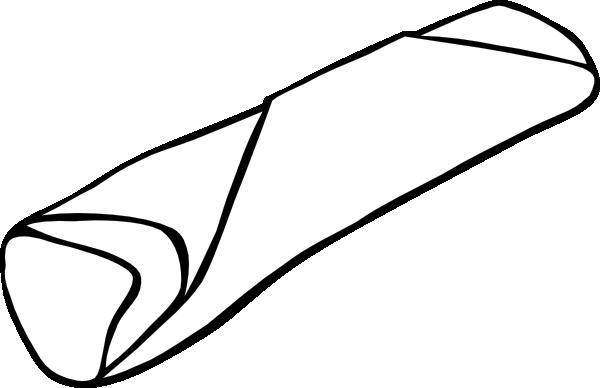 Burrito clip art at vector clip art 2
