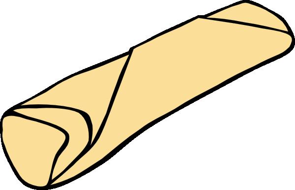 Burrito clip art at vector clip art