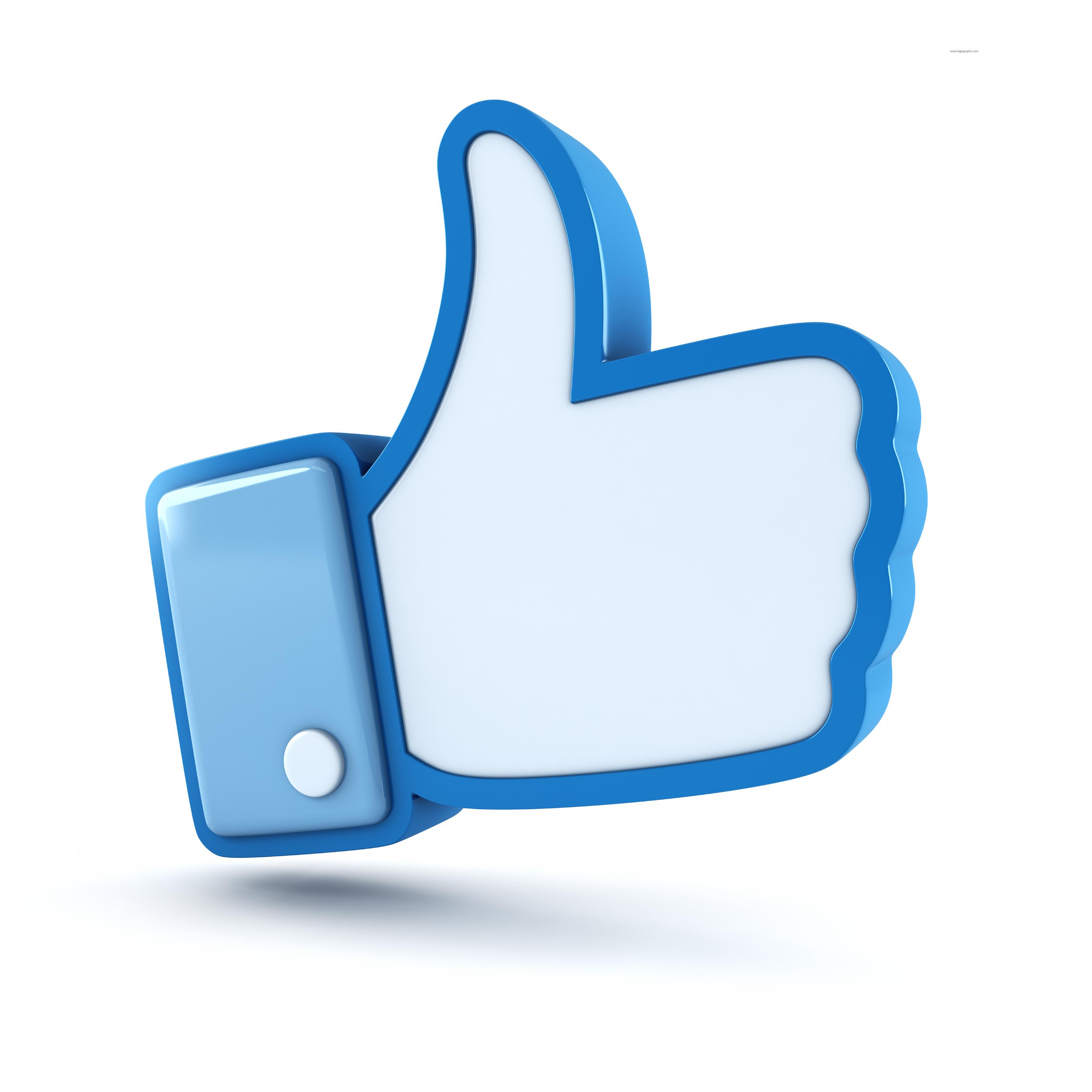 Cartoon facebook logo clipart