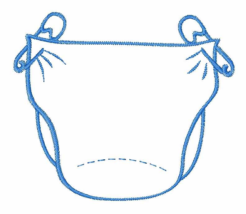 Diaper clipart 2