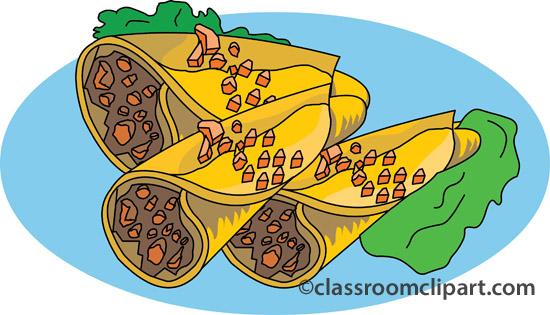 Fast food clipart burrito 1 classroom clipart