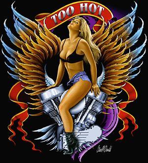 Harley davidson crazy eddie clip art 3