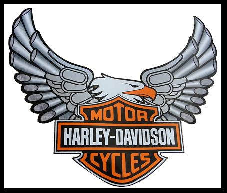 Harley davidson logos free clipart