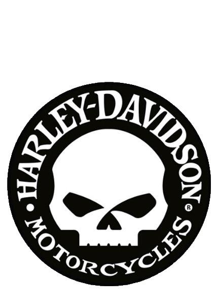 Harley davidson vector logo clipart