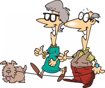 Old people elderly people clip art