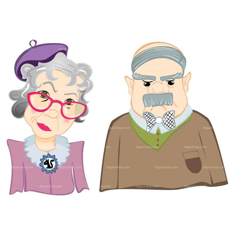 Old people old person clipart image #27668