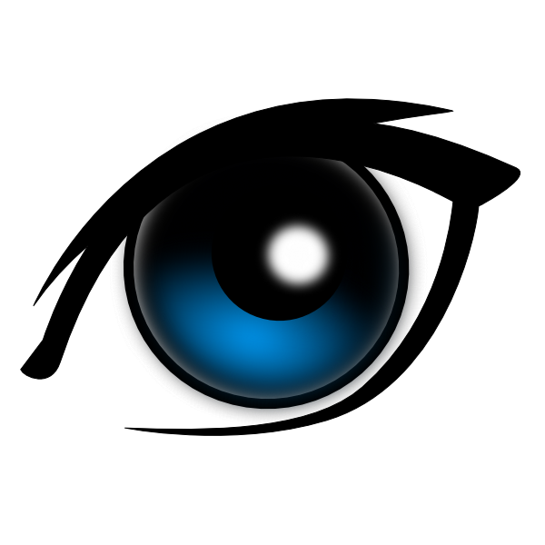 Eyeball animal eyes clip art free