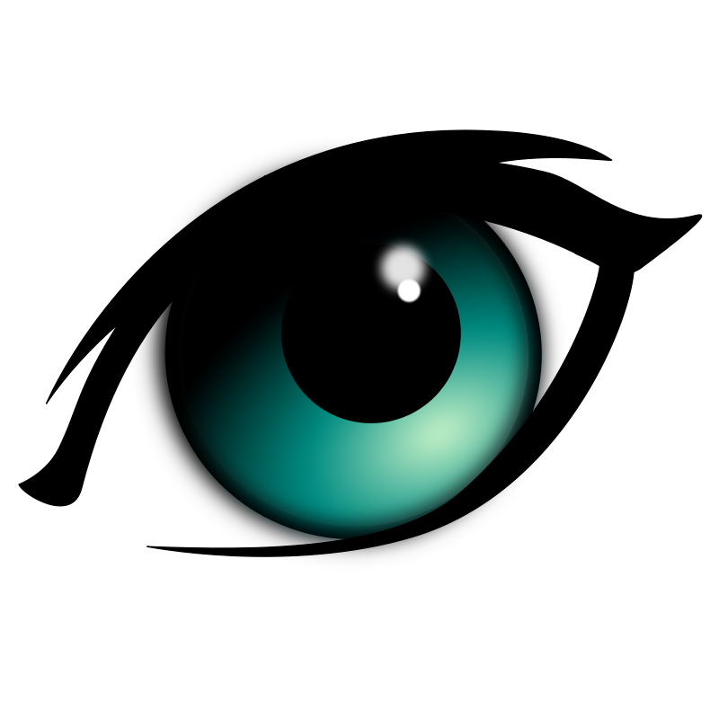 Eyeball cartoon eyes clipart clipart
