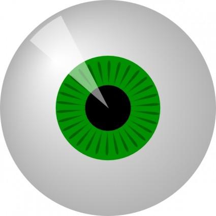 Eyeball eye clip art free vector in open office drawing svg svg 2