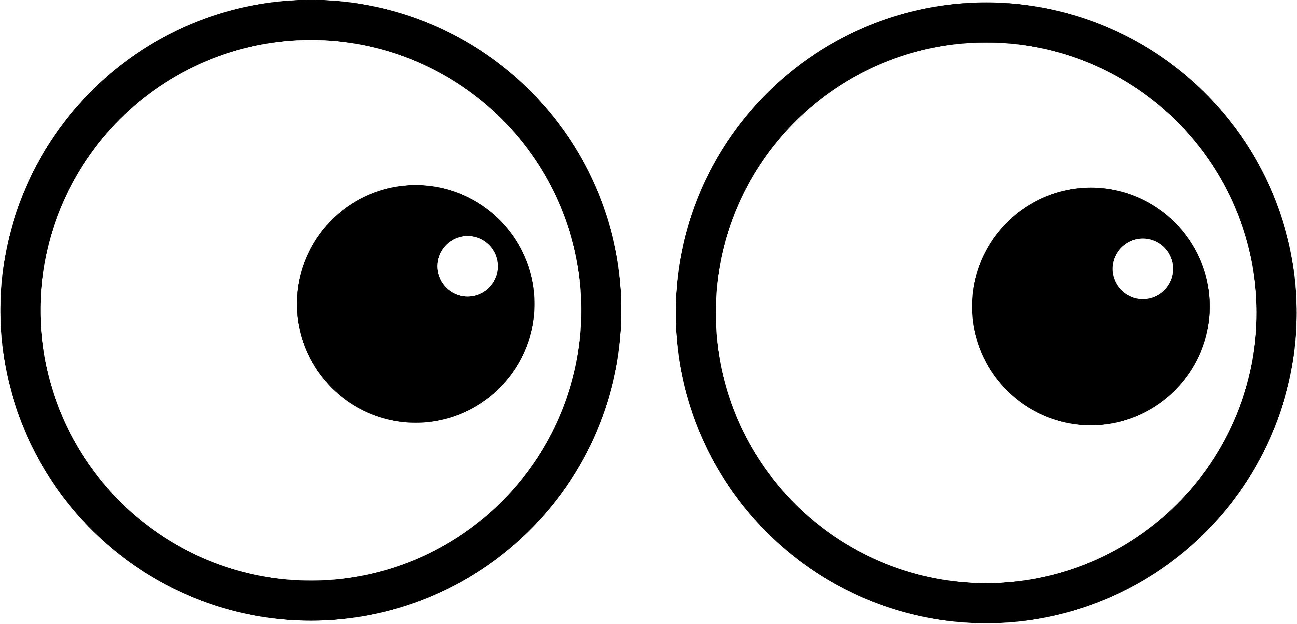 Eyeball eyes cartoon eye clip art clipart image 0