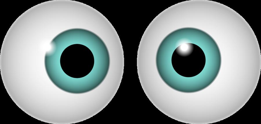 Eyeball googly eyes clip art clipart