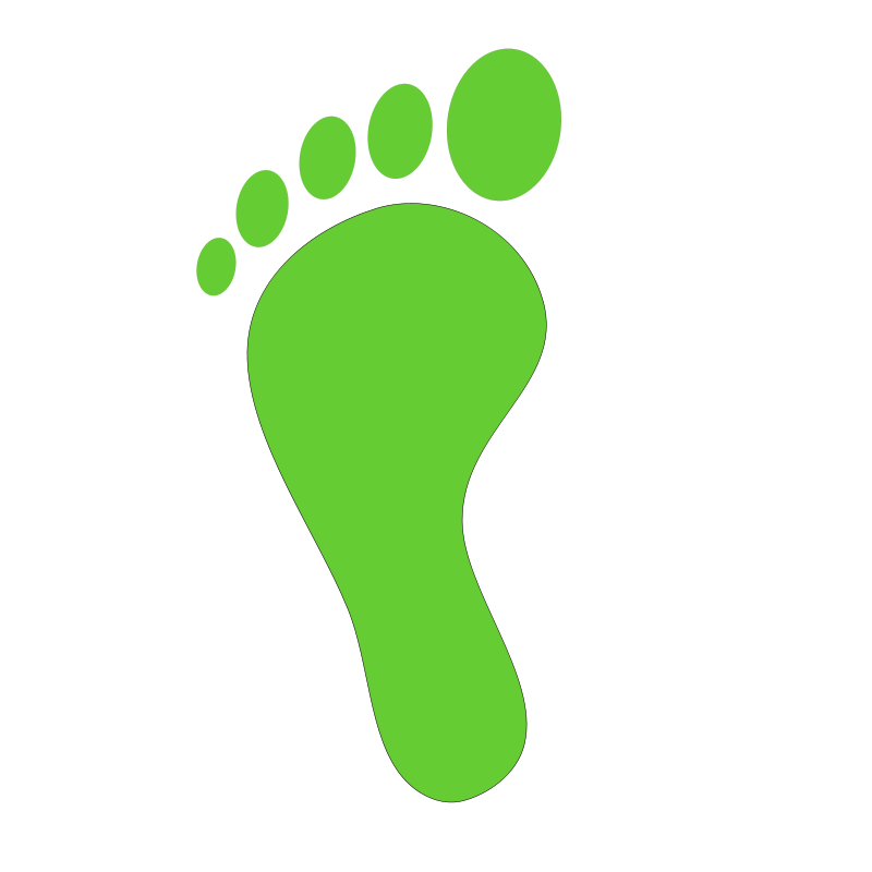 Foot free clip art baby feet borders free clipart images image #28020
