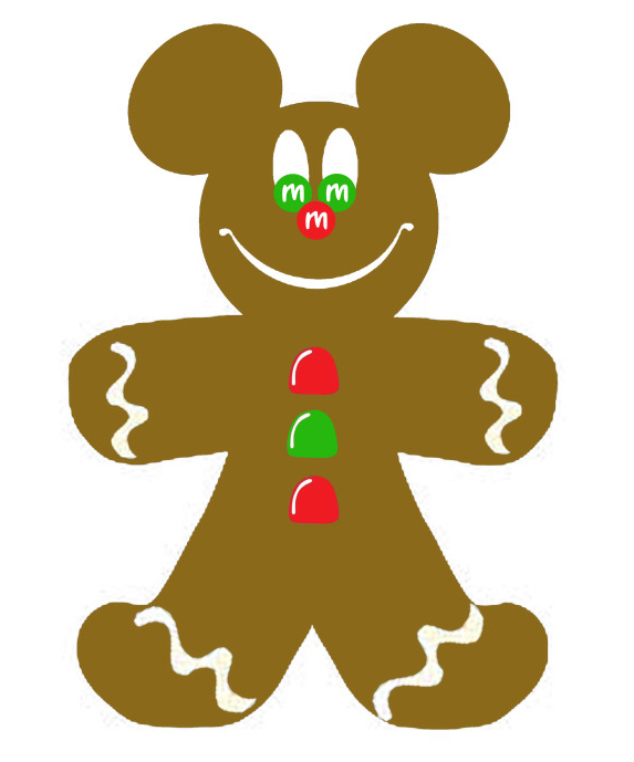 Gingerbread man clip art free free clipart images 2
