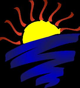 Sun set clip art sunset clip free clipart images