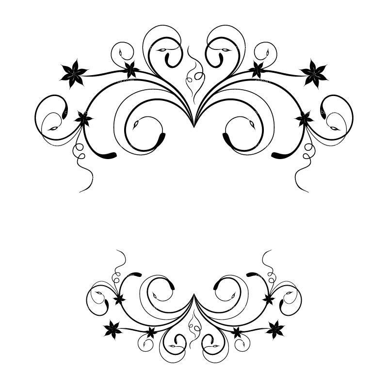 Floral clip art 2